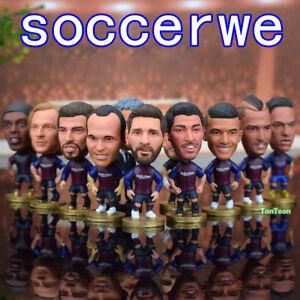 Soccer-Barca-2018-Season-Football-Stars-2-5-034-Action-Dolls-Toy-Figurine