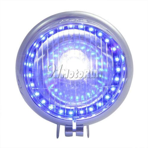 27LED Angel Eye Fog Light For KAWASAKI VULCAN VN 800 900 1500 1600