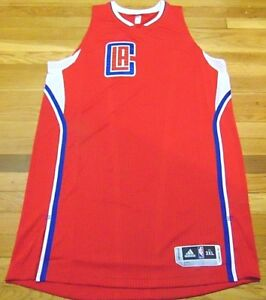 63c8a74f57949 ADIDAS NBA REVOLUTION 30 LOS ANGELES CLIPPERS RED AUTHENTIC BLANK ...