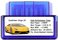 Stage 20 Tuner Chip Power Performance +195HP 5MPG Best ECU Tune for Ford / Truck