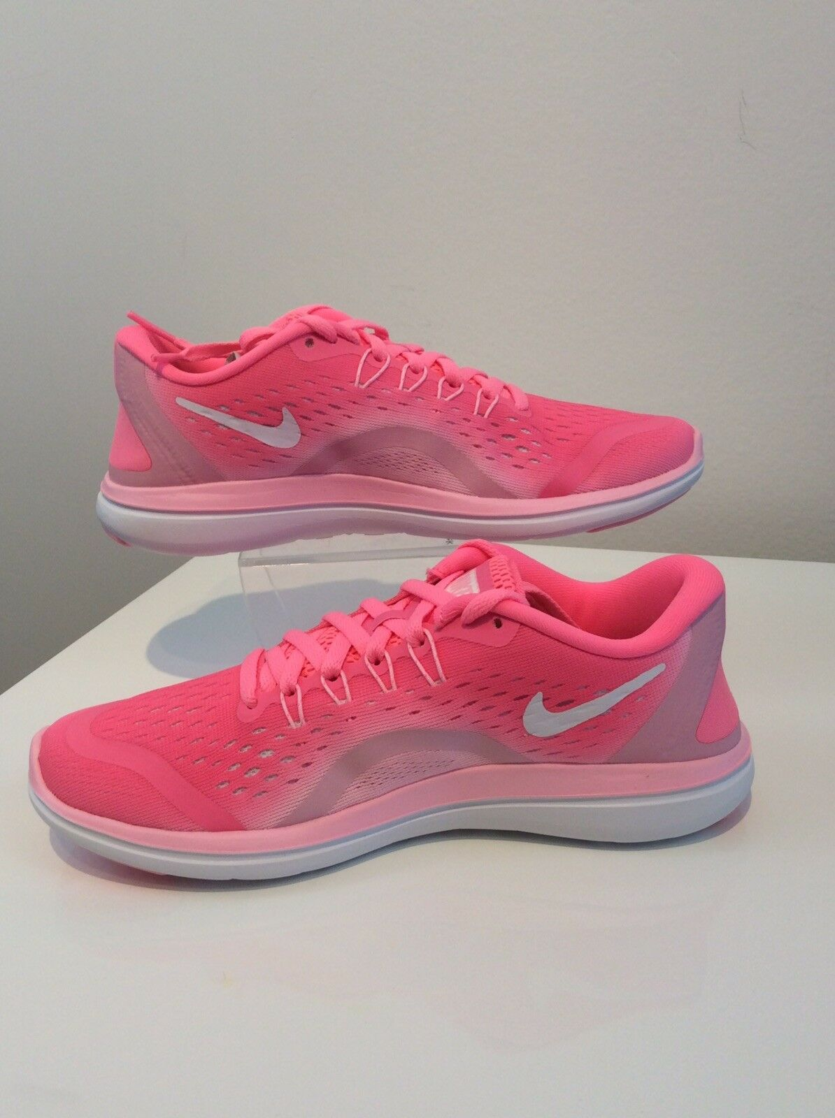 NIKE Wouomo WNS Flex  2017 RN, Sunset Pulse  bianca -Arctic Punch, 6 US  negozio online outlet