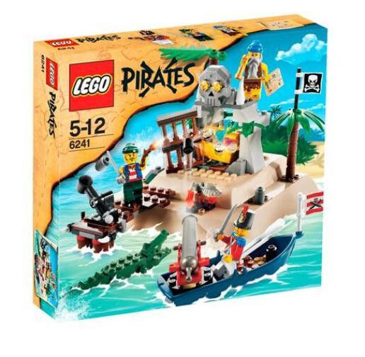 Lego 6241 Pirates Loot Island Cannon  Fun Set  Sealed Box