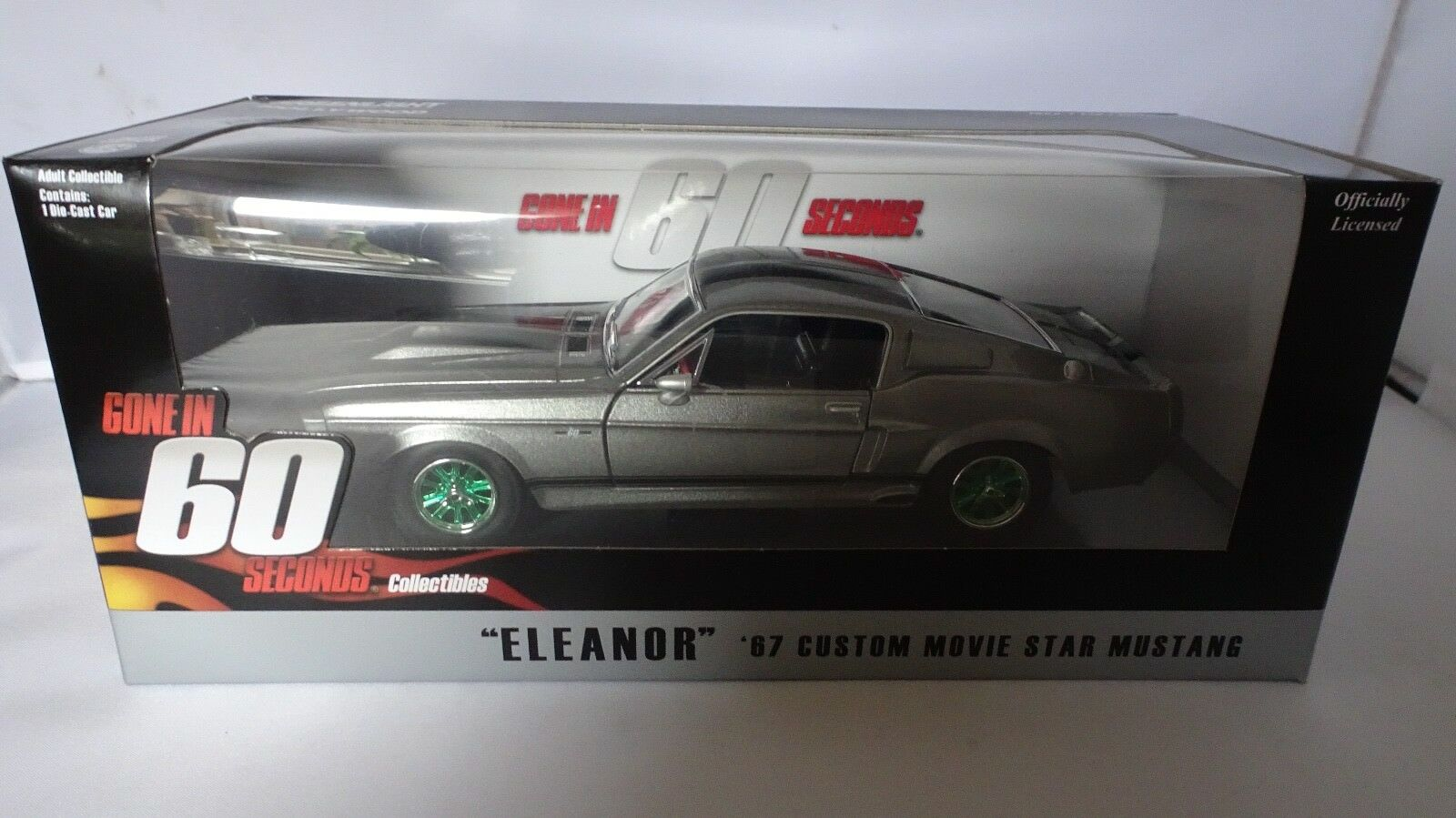 Muy raro verde rueda 1 24 ido en 60  67 Eleanor verdelight Hollywood