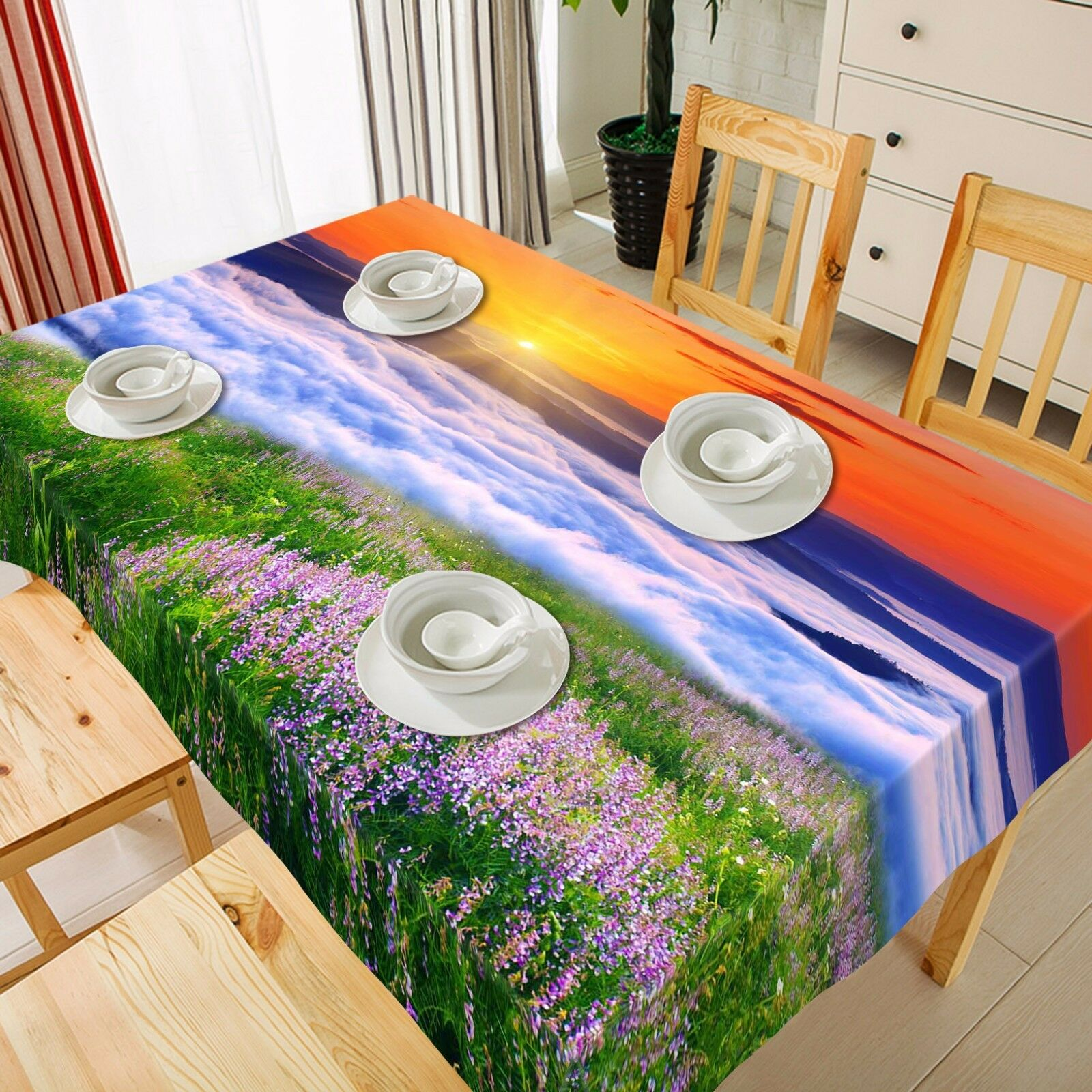 3D Waterfall84 Tablecloth Table Cover Cloth Birthday Birthday Birthday Party Event AJ WALLPAPER UK ea7101