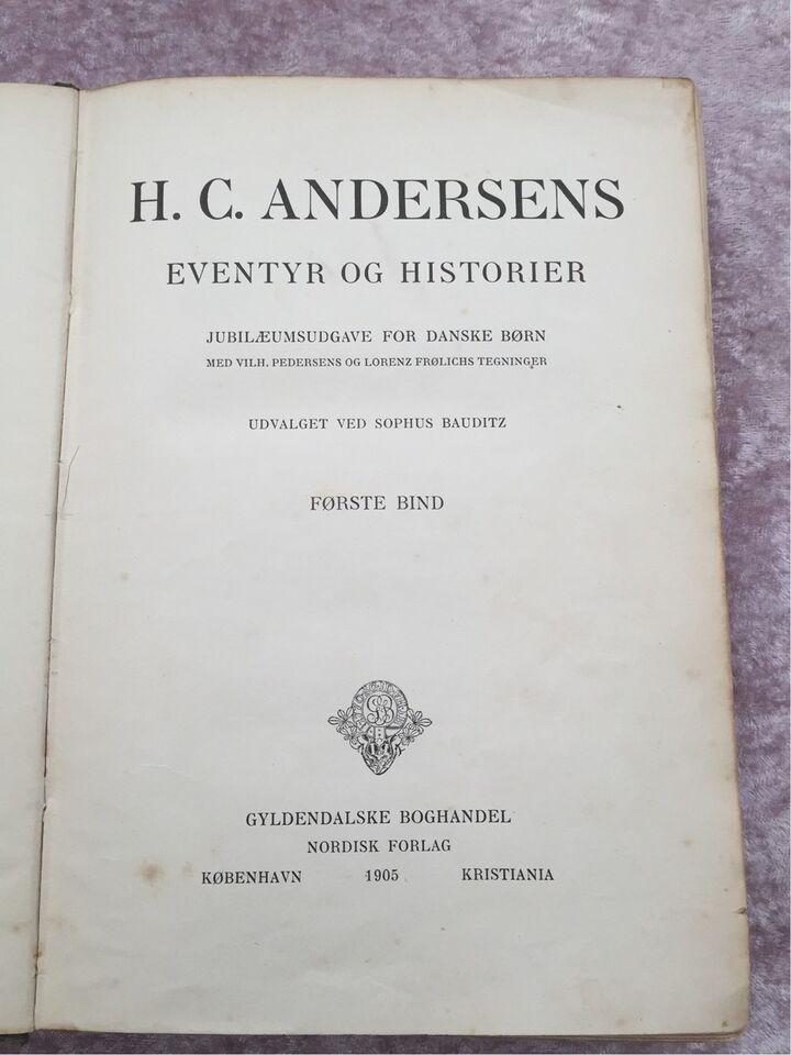H.c.andersens eventyr og historier, H.c.andersen,
