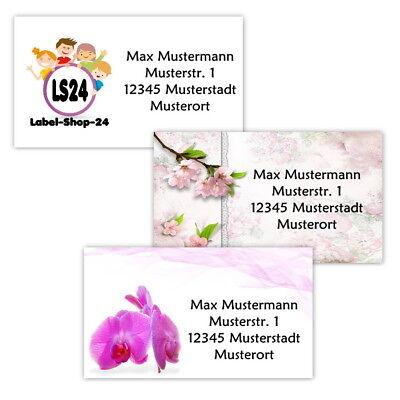 40 Adressetiketten Adressaufkleber Oder 10 Visitenkarten Eigenes Motiv Ebay