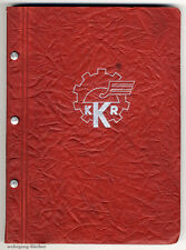 Motorradteile Verkaufskatalog von 1939, Karl Kölbel KG, 306 Seiten mit Abb.
