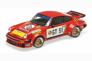MINICHAMPS-Porsche-934-GT-51-Winner-EGT-Nurburgring-300-Km-1-18-LE-440pc-New