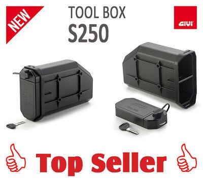 Givi S250 Tool Box, Strumento Borsa Per Pl, Plr, Pl _ Cam E Plr _ Cam Valigia Travi- Materiale Selezionato