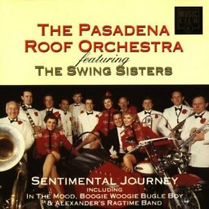 Pasadena-Roof-Orchestra-Sentimental-journey-compilation-17-tracks-feat-CD