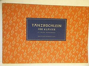 034-Tanzbuechlein-fuer-Klavier-034-Hrsg-J-Alex-Burkard