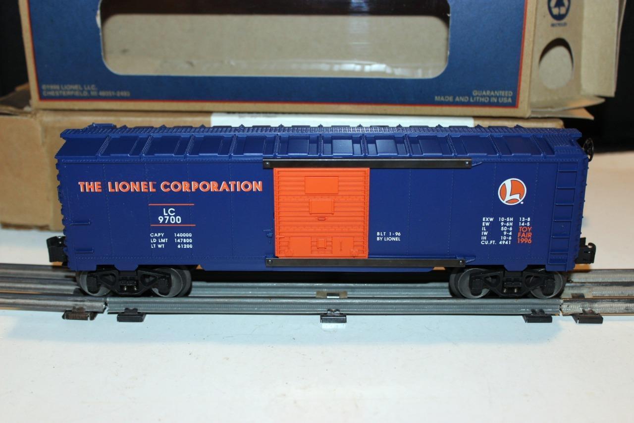 Lionel - 19947 - 1996 Juguete Fair Furgón-producción limitada - 0 027 - perfecto Estado-C6