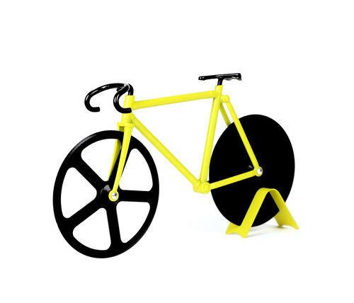 DOIY the un Fixie Pizza Schneider Vélo Nouveau//Neuf dans sa boîte Bumblebee Pizza Cutter vélo de course
