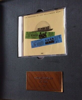 The Beatles At The Hollywood Bowl - Limited 500 - CD - Box Capitol EMI