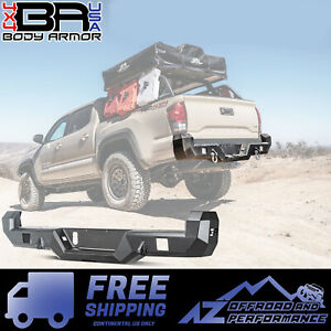 Details about Body Armor 4X4 Pro Series Rear Bumper For 2016-2019 Toyota  Tacoma TC-2963