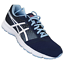 ASICS-WOMENS-Shoes-Patriot-8-Indigo-Blue-White-amp-Fuchsia-Purple-T669N-4901 thumbnail 3