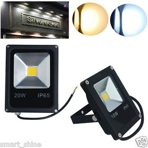 led flood light floodlight security garden lights outdoor lamp ip65 uk