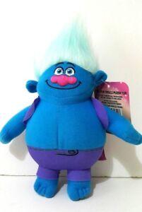 Dreamworks-Biggie-Blue-Plush-Stuffed-Soft-Doll-Toy-Movie-Animation-Trolls