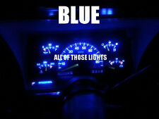 4 BLUE T10 LED INSTRUMENT PANEL CLUSTER DASH LIGHT BULB PC168 PC194