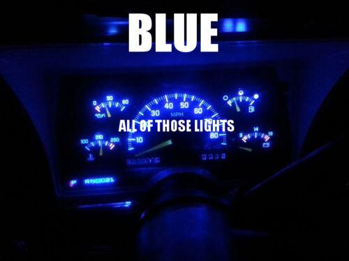 9 RED T10 5730 LED INSTRUMENT PANEL CLUSTER DASH LIGHT BULB PC168 PC194
