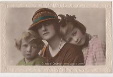 POSTCARD  ACTRESSES   Gladys  Cooper  &  Children