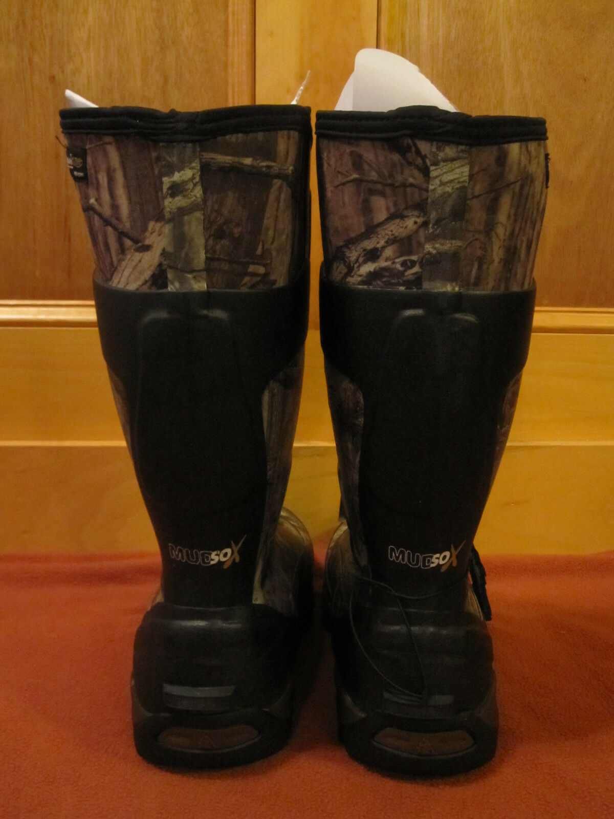 NEW Insulated Uomo ROCKY MUDSOX Insulated NEW MossyOak Infinity Camo Scent IQ Rubber Stivali 4786 ebff2d