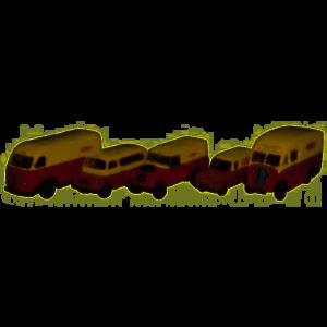Oxford Diecast 1:76 5 Piece British Rail Set 76SET34