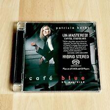 Patricia Barber - Café Blue Premonition Hybrid SACD Neu/OVP