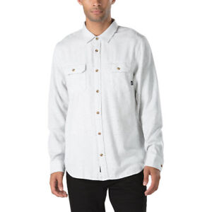 Vans-Off-The-Wall-Men-039-s-Pembroke-L-S-Woven-Shirt-Retail-55