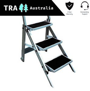 Phenomenal Details About Triple Folding Caravan Step Portable Rv Ladder Camper Trailer Parts Jayco Alphanode Cool Chair Designs And Ideas Alphanodeonline