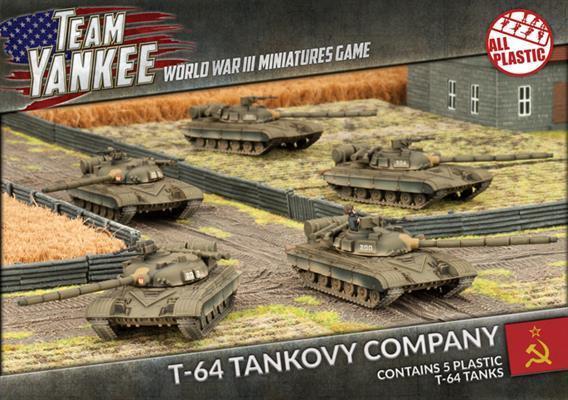 T-64 Tankovy Company (Plastic)- Team Yankee - TSBX13 Flames of War