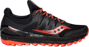 Saucony Womens Xodus ISO 3 Running Shoe Black Sports Breathable
