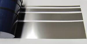 10mm Stärke 0,20mm 2m selbstklebendes Edelstahlband Breite