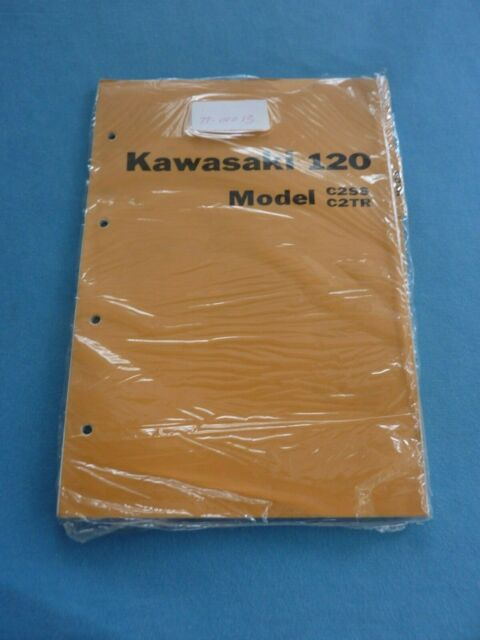 Kawasaki Kazer 120 Repair Manual