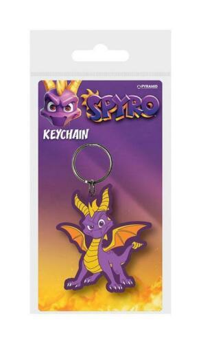 Spyro il Dragone Portachiavi Caucciù Dragone Stance 6 cm Portachiavi 38866C