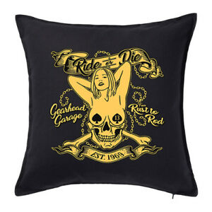 Biker-Motorbike-Bike-Cushion-Cover-Pillow-Case-Motorhome-Race-Truck-Caravan-235