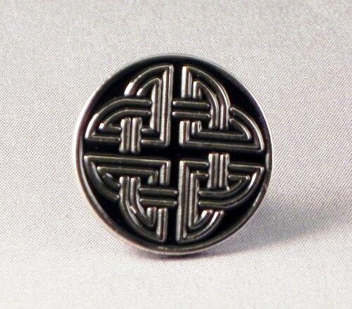 ICOVELLAVNA DECORATION ART   DB-28 CELTIC KNOT LAPEL PIN BADGE
