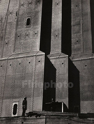 1935 STEEL BUILDING Metal Architecture INDUSTRIAL Photo Art By DOOLITTLE ~ 16x20