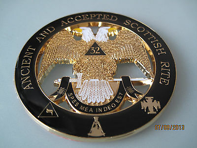 Masonic - 32nd Degree Scottish Rite car emblem:.