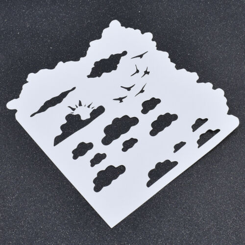 Spray Painted Template DIY Card Drawing Accessories Craft Stencil Making 1 Pc