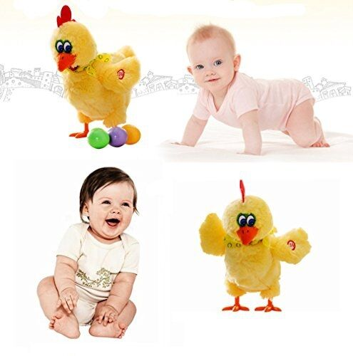 Kid Toy Singing Dancing Chicken Laying Egg Sound Music Chicken Play Kids Gift