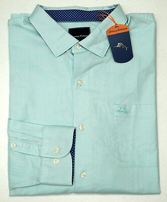 NWT $135 Tommy Bahama Long Sleeve Purple Shirt Mens Size XLT 2XB Button Down NEW