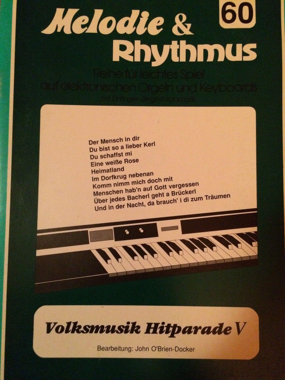 """/"""" Rhythmische Geläufigkeitsübungen für e-Orgel /"""" Beiheft A Willi Nagel"""
