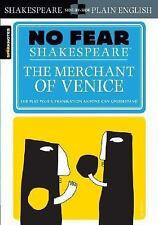 No Fear Shakespeare: The Merchant of Venice by SparkNotes Staff and William Sha…