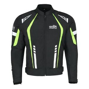 Mens-Motorbike-Cordura-Jacket-Motorcycle-Waterproof-CE-Armours-Biker-Textile-Top