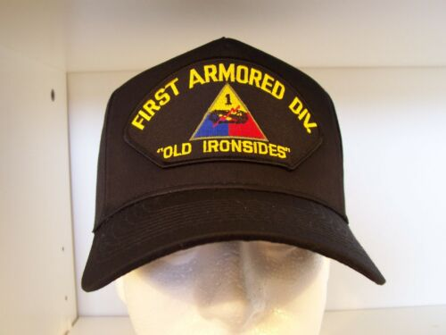 """#1436 1st First Armored Division /""""Old Ironsides/"""" Cap Ballcap Hat"""