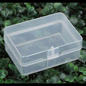 5X-Clear-Plastic-Transparent-Storage-Box-Collection-Container-Case-Part-FG