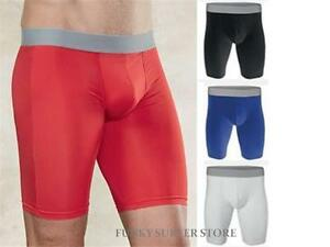 Mens Boys Compression Shorts Base Layer Thermal Sports Skins Underwear Fitness