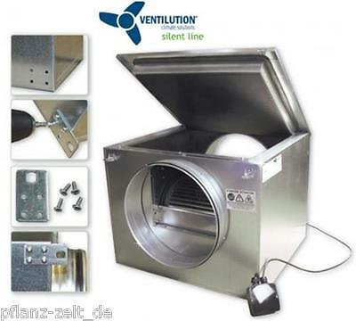 Ventilution Silent Line Box 1140 m³/h 250mm schallgedämmt Ventilator Lüfterkiste