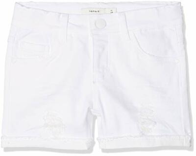 Vornehm Name It Mädchen Jeans Shorts Kinder Hose Kurz White Denim Größe 98 Bis 158 Um Der Bequemlichkeit Des Volkes Zu Entsprechen